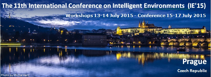 The 11th International Conference on Intelligent Environments - IE15